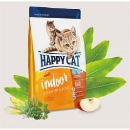 HAPPY CAT ADULT INDOOR Atlantik-Lachs / Atlantický losos 10 kg