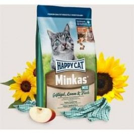 HAPPY CAT ADULT Minkas Geflügel-Lamm-Fisch / Drůbež & Jehně & Ryba 4 kg