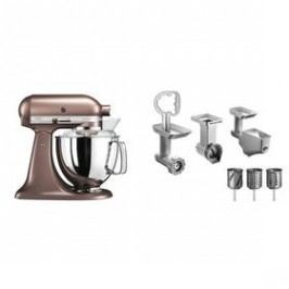 KitchenAid 5KSM175PSEAP + 5KSMFPPC