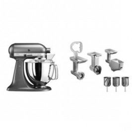 KitchenAid 5KSM175PSEMS + 5KSMFPPC