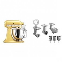 KitchenAid 5KSM175PSEMY + 5KSMFPPC