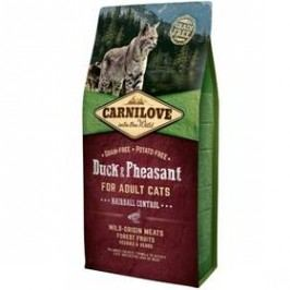 Brit Carnilove Cat Duck & Pheasant Adult Hairball Contr 2 kg