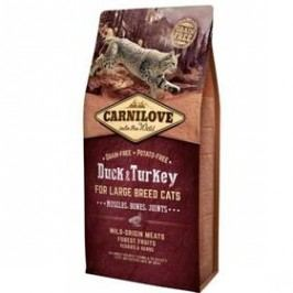 Brit Carnilove Cat LB Duck & Turkey Muscles, Bones, Joints 6 kg