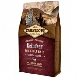 Brit Carnilove Cat Reindeer for Adult Energy & Outdoor 6 kg
