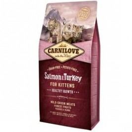 Brit Carnilove Cat Salmon & Turkey for Kittens HG 6 kg