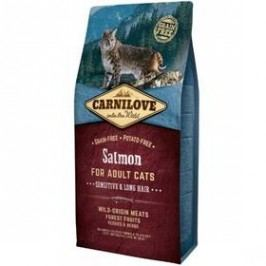 Brit Carnilove Cat Salmon for Adult Sensitiv & LH  6 kg