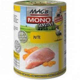 MACs Cat MONO Sensitive Krůta a mrkev 400g