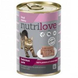 Nutrilove Cat paté Veal 400g