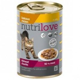 Nutrilove Cat chunks Chicken jelly 400g