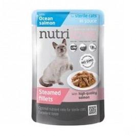 Nutrilove Cat pouch Sterile Salmon gravy 28 x 85g