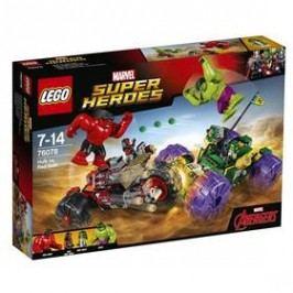 LEGO® SUPER HEROES 76078 Hulk vs. Červený Hulk