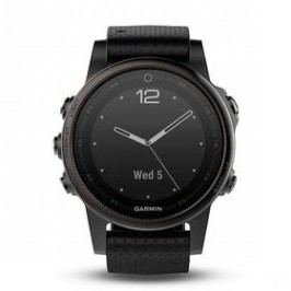 Garmin Fenix 5S Sapphire (010-01685-11) černé/šedé