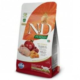 N&D Grain Free Pumpkin CAT NEUTERED Quail & Pomegranate 1,5 kg
