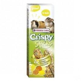 Versele-Laga Crispy Sticks Citrus tyčinka pro morčata a činčily Hlodavci