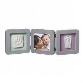 Baby Art Rámeček Double Print Frame Grey Doplňky a dekorace dětského pokoje