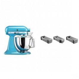 Set KitchenAid - kuchyňský robot 5KSM175PSECL + KPRA strojek na těstoviny