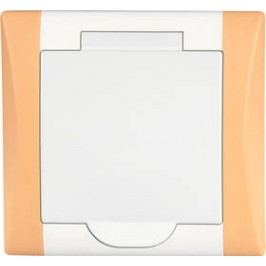 AXPIR ELEGANT bílá/oranžová
