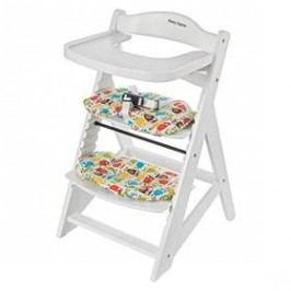 Rostoucí židlička Sun Baby Woody white dřevěná