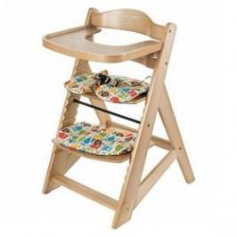 Rostoucí židlička Sun Baby Woody natural dřevěná