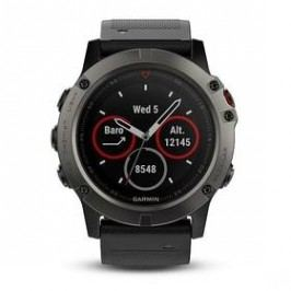 Garmin Fenix 5X Saphire Gray Optic (010-01733-01) černé