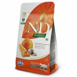 N&D Grain Free Pumpkin CAT Herring & Orange 1,5 kg