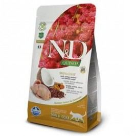 N&D Grain Free Quinoa CAT Skin&Coat Quail & Coconut 1,5 kg