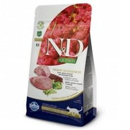 N&D Grain Free Quinoa CAT Weight Management Lamb & Broccoli 1,5 kg