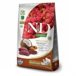N&D Grain Free Quinoa DOG Skin&Coat Venison & Coconut 2,5g
