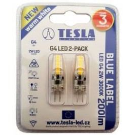 Tesla bodová, 2W, G4, teplá bílá (2ks) (G4000230-PACK2)