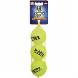 Nobby tenisový míček 6 cm 3 ks