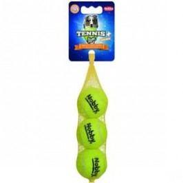 Nobby tenisový míček S pískátko 5 cm 3 ks