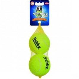 Nobby tenisový míček L pískátko 8,5 cm 2 ks