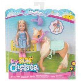Mattel Chelsea a poník