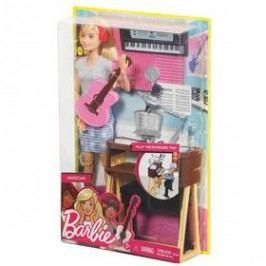 Mattel muzikantka blondýnka