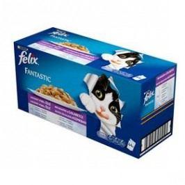 Felix Fantastic lahodný výběr Multipack 44 x 100 g Kočky