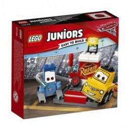LEGO® JUNIORS 10732 Zastávka v boxech Guida a Luigiho