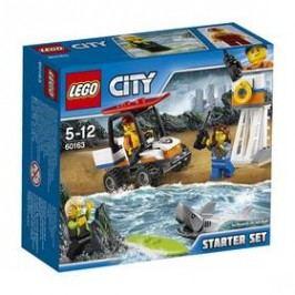 LEGO® CITY COAST GUARD 60163 Pobřežní hlídka - začátečnická sada