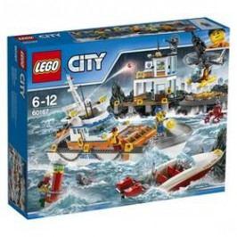LEGO® CITY COAST GUARD 60167 Základna pobřežní hlídky