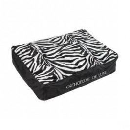 O'Lala Pets ortopedická De Luxe 130 x 100 cm zebra