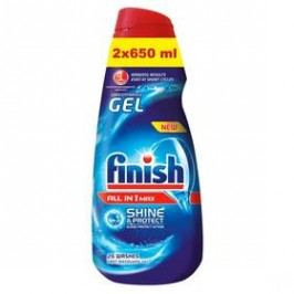 do myčky FINISH All-in-1 Shine&Protect 2x 650 ml