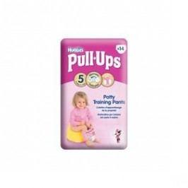 Huggies Pull Ups Medium - Girls 14-18 kg, 14 ks