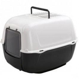Ferplast WC PRIMA krytá s filtrem černá 39,5x52,5x38cm