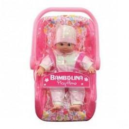 Bambolina s autosedačkou 30 cm