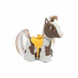 EP Line poník - bílohnědý se žlutým sedlem