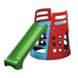 Marian Plast s věží a prolézačkou červená/modrá/zelená