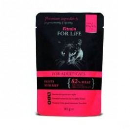 FITMIN for Life Cat Pouch Adult beef 85 g