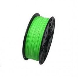 Tisková struna (filament) Gembird , ABS, 1,75mm, 1kg, fluorescentní zelená