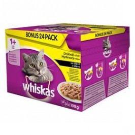 Whiskas drůbeží výběr 24pack 2400g