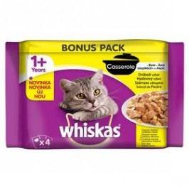 Whiskas Casserole drůbeží výběr v želé 4pack 4 x 85g