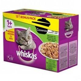 Whiskas Casserole mixovaný výběr v želé 12pack 12 x 85g